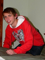 Horny slim russian gay teen boy