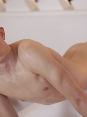 Yuri Adamov Gets Banged Like A Common Tart By A Fitness-Mad Fucker With A Donkey Dick!